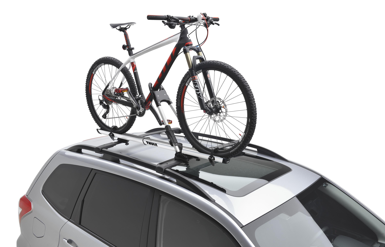 2017 Subaru Impreza Thule 174 Bike Carrier Roof Mounted